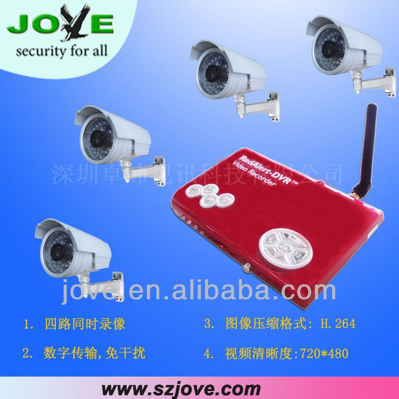 wireless remote control micro dvr system mini camera recorder