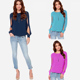 walson 4747 Women Blouse Long Sleeve Sexy Casual Shirt Chiffon Blouse Women lace ropa mujer