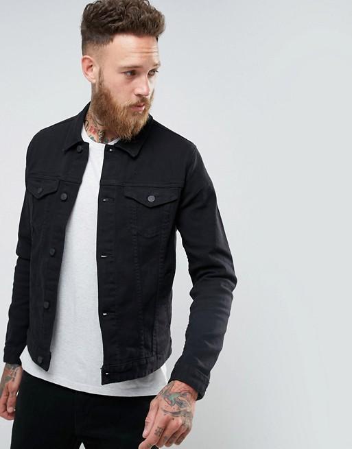 New Style Mens Jean Jacket Skinny Denim Jackets Coats Winter In