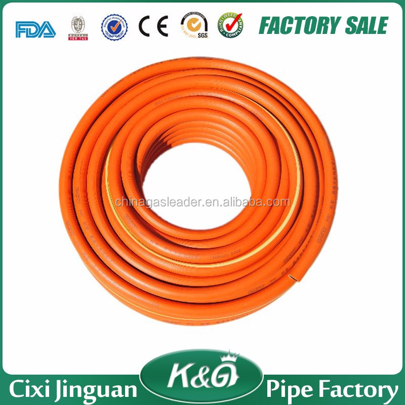 High Security Flexible Natural LPG Gas hose Adapt To All Kinds Of Gas Cylinder