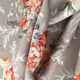 Custom design floral printing 100% polyester spandex dress fabric
