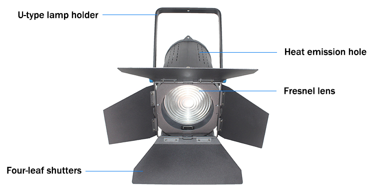 TY-LED6100 Studio Fresnel Spotlight(图3)