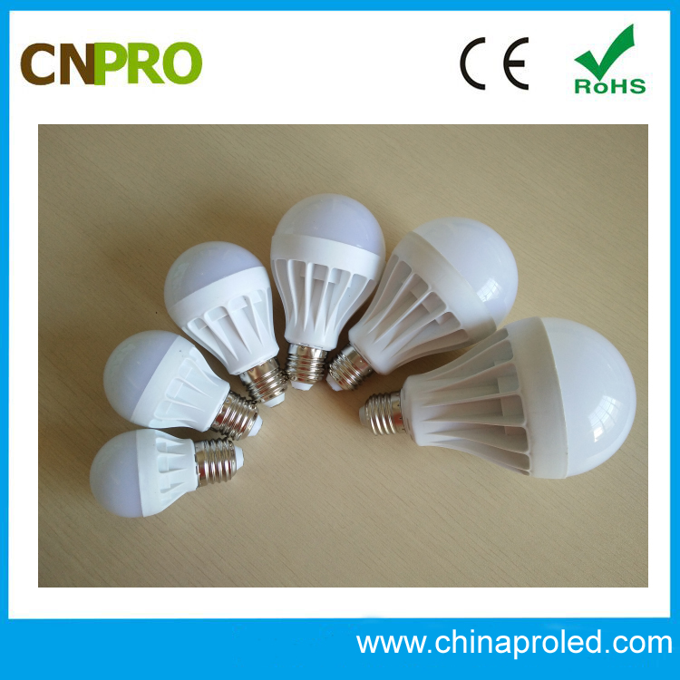 wholesale price hot seller e27 e14 b22 premium plastic led bulb light 9w AC160-280v 2 years warranty