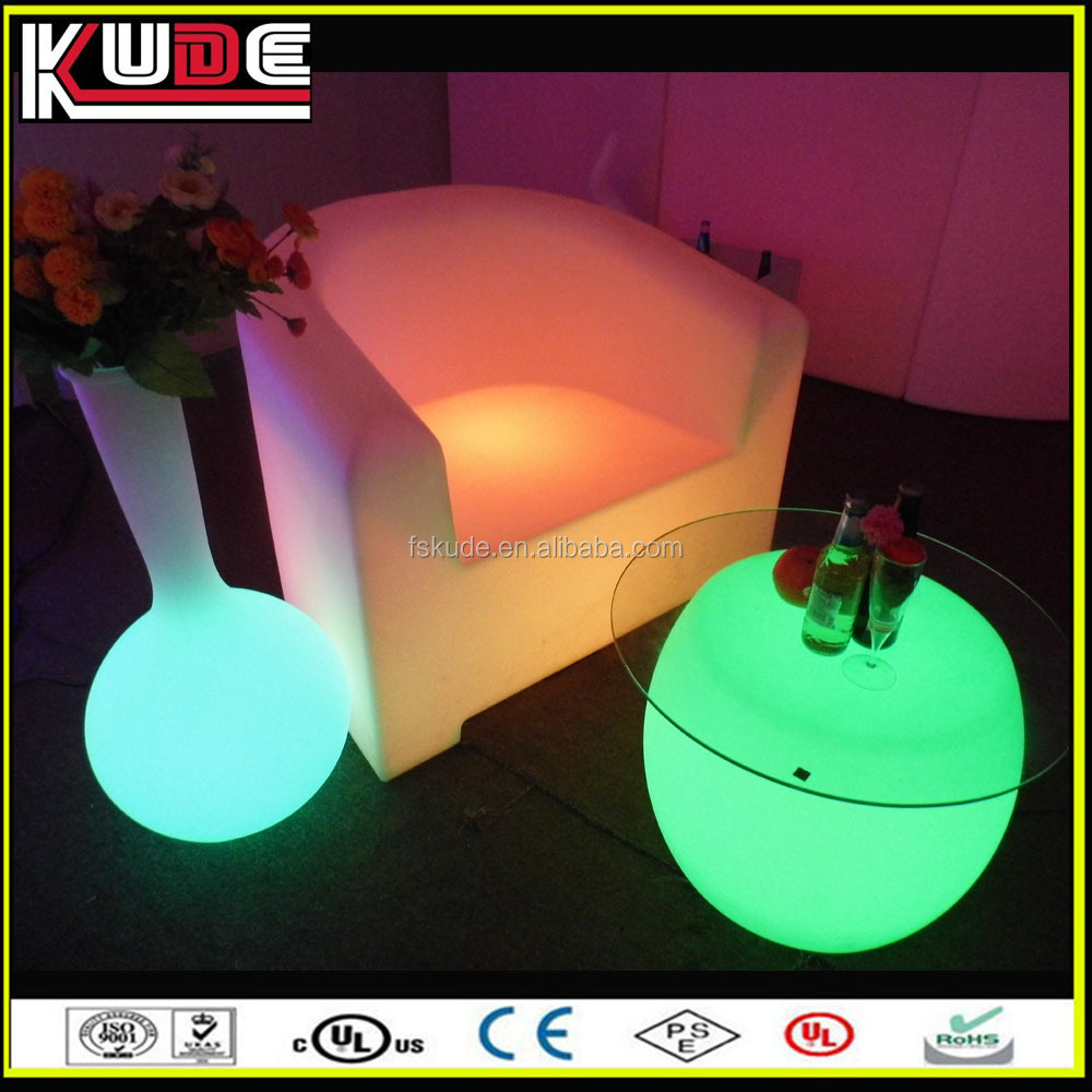 24 keys remote control glow LED furniture made in China