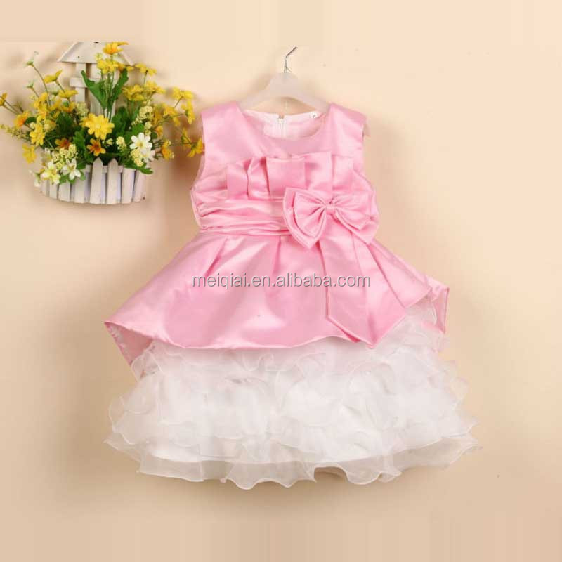 New Style Sleeveless 1-6 Years Old Baby Girl Dress Girls Party ...