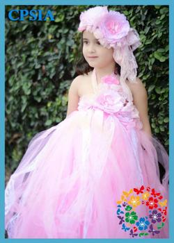 gro handel h bsche m dchen m rchen lolita tube dress 3 schichten rosa kinder prinzessin. Black Bedroom Furniture Sets. Home Design Ideas