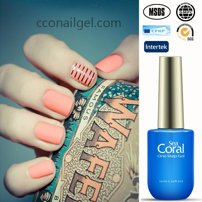 Sea Coral Kiwi French Nail Tips Gel Nail Japan Polish - Buy Gel Nail ...