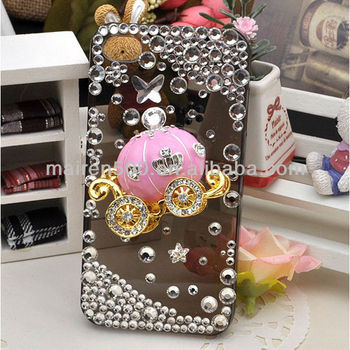 Diy Mobile Phone Case Accessories Bling Pumpkin Carriage ...