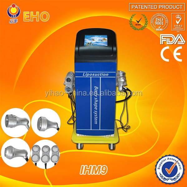 M80&M50 ultrasonic working head , BIO electric LED , vacuum ultrasound liposuction machine for sale