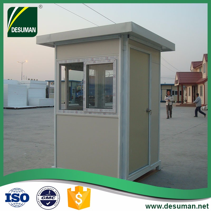 DESUMAN hot sale high value security booth for sale