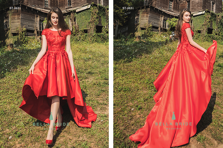 fd77c7252ca3 Bella Bride designer red dresses Guangzhou different types of frocks  designs long prom dress