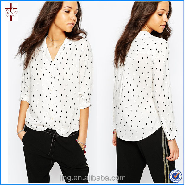 90f79ebf70c37 2015 Old fashion Women top cold-shoulder blouse fashion cutting blouse