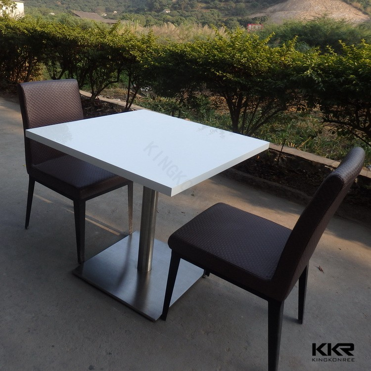 Alibaba China Artificial Stone Tables Granite Top Dining Dinning Product On