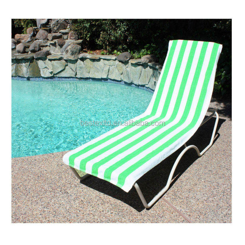 Comfortable Soft Lounge Cotton Terry Beach Towel Lounge
