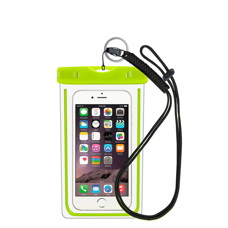FREE SAMPLE Universal PVC Transparent Plastic 100% waterproof Phone Case for iPhone X