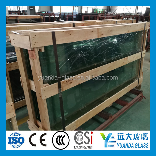 Top High Quality PVB Film Thermal Insulation Bulletproof Glass For Automotive Windshield
