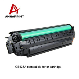 CB436A compatible laser toner cartridge product made in China for HP printer