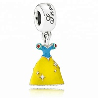 Klein Jewelry cartoon series charm for Pandora charms Silver 925 High-quality Enamel