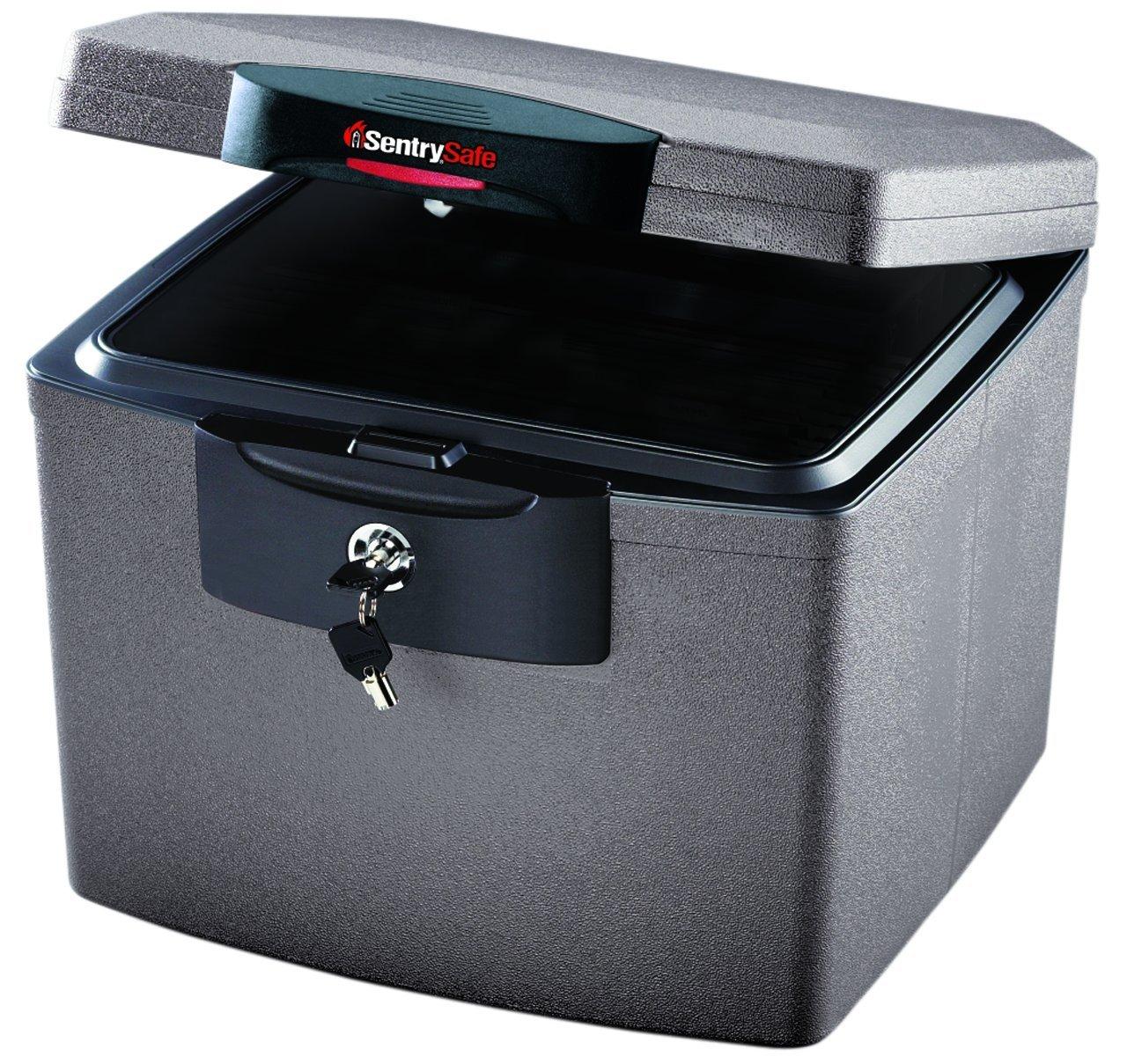 SentrySafe H4300 FIRE-SAFE Waterproof File, 0.68 Cubic Feet, Silver Gray