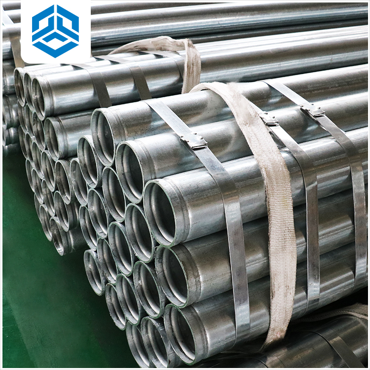 Best Tianjin pipe high quality hot dipped gi pipe galvanized steel pipe for oil drilling gas or pipeline