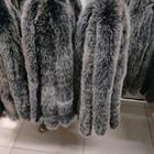 High quality factory price Real Blue Fox Fur Trim For Hood And Collar
