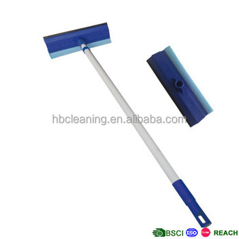 long handle window cleaning squeegee extension poles
