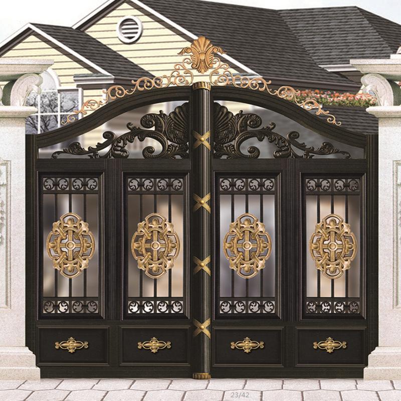 Modern Wrought Aluminum Decorative Main Gate Design Buy Indian