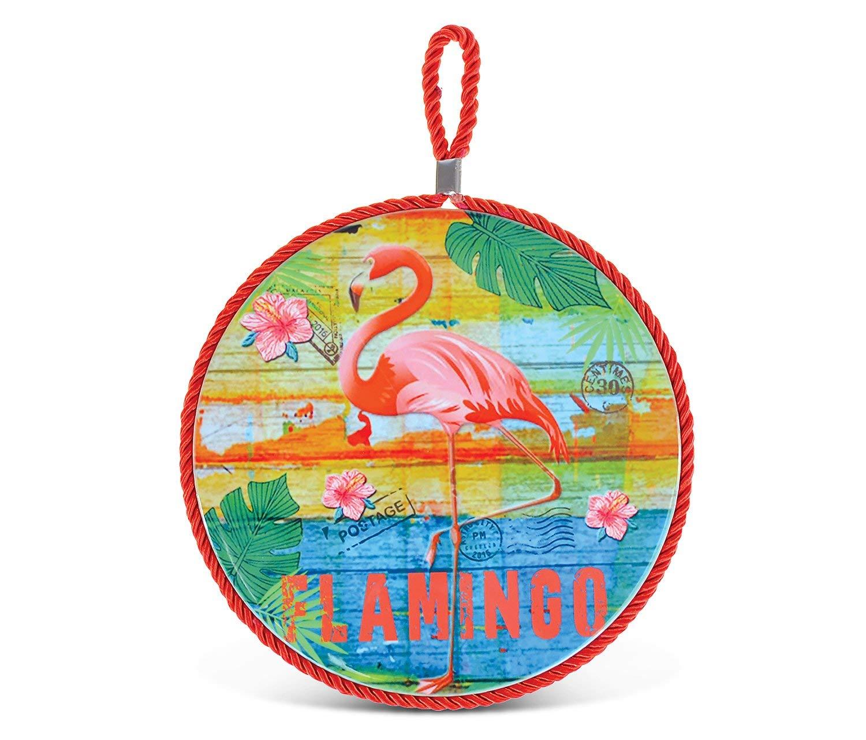 PuzzledDolphins Mosaic Nautical Ceramic Coaster