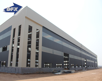 China Leading Manufacturer Prefabricated Steel Structure Frame Warehouse