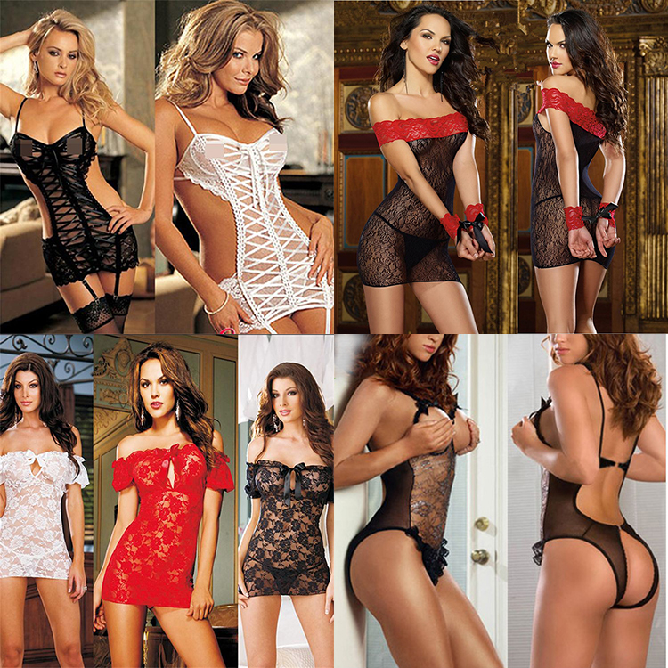 ec5fb7c942e Girls G String Open Crotch Body Sexy Lace Teddy Suit Lingerie - Buy ...