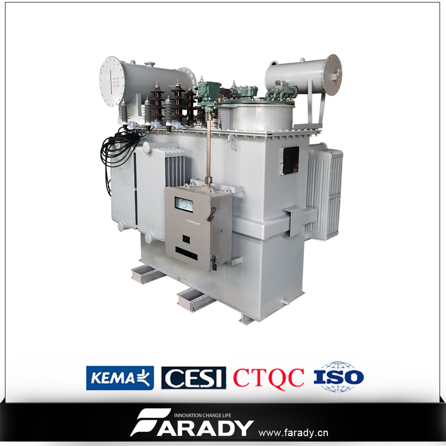 oil-immersed three phase 2500kva voltage booster