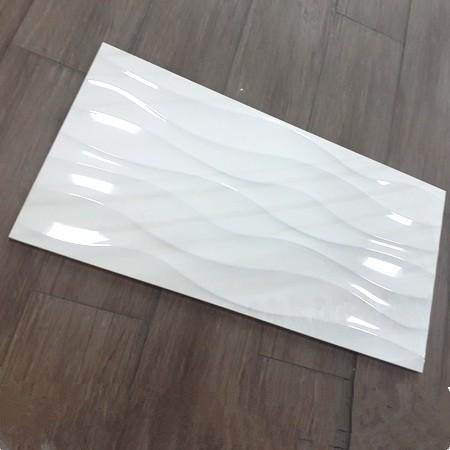 30x60 poli blanc noir en c ramique vague carreaux utilis s for Carrelage mural blanc brillant 30x60