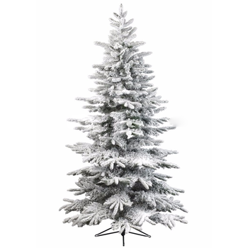 7 5 Ft Pre Lit Led Lexington Quick Set Artificial Christmas Tree With Warm White Lights And Pinecones Buy White Wire Led Lighted Christmas