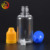 china factory child safety clear 30ml pet plastic smoke oil bottle with dropper