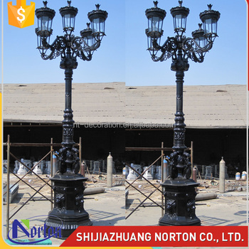 Outdoor decor casting 5 lights antique cast iron lamp post ntilp outdoor decor casting 5 lights antique cast iron lamp post ntilp 271a mozeypictures Choice Image