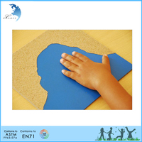 Promotional good quality kindergarden montessori touch exercise game
