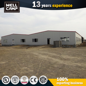 Light Steel Frame Kit Homes Ready Made Durable Prefab Modular Guest House