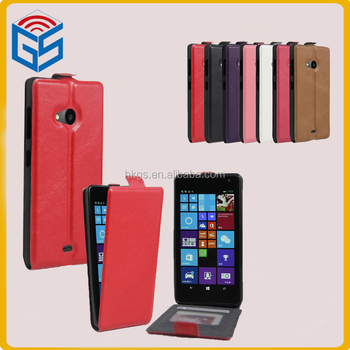 Electrical Company Names Card Holder Flip Case For Microsoft Lumia 535 Nokia 1090