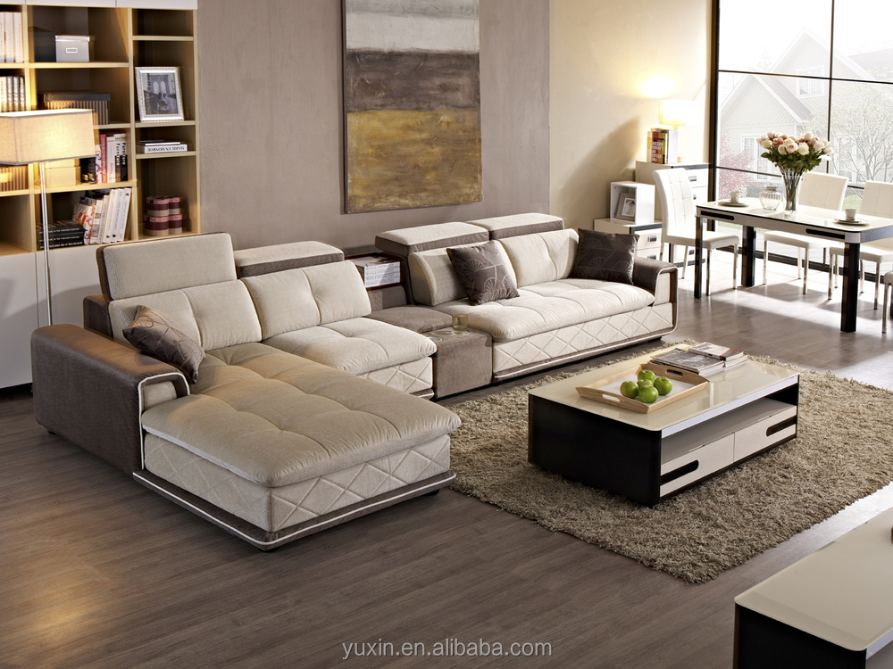 Sofa In Guangzhou Low MOQ Lobby Corner Wooden Set Designs