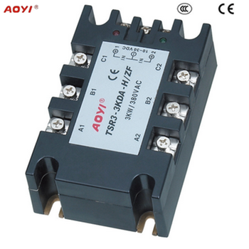 3kw 380vac Relay Module Solid State Relay Threephase Motor And