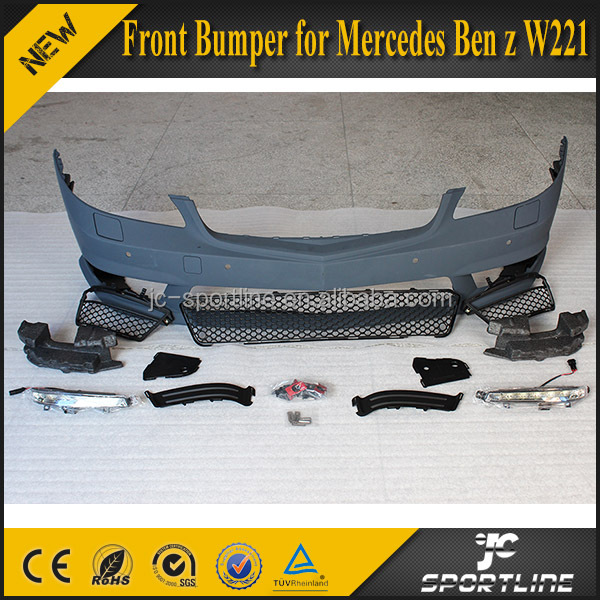 W221 S65 PP Front Bumper for Mercedes Ben z 2012 UP