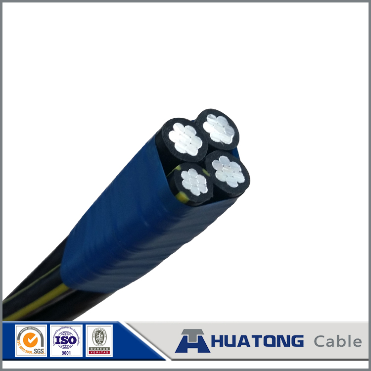 Electrical Transmission line aluminium conductor cable xlpe insulated 4core CABLE AL/XLPE with high quality
