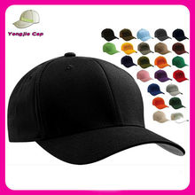 Flexfit Wooly Combed Twill Fitted Baseball Blank Plain Hat Cap Flex Fit