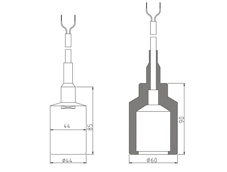 Glt570 Capacitance Fuel Level Sensor
