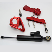 CNC steering damper stabilizer bracket support kits for suzuki for GSXR 600 750 GSR750 GSXR600 GSXR 1000