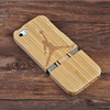 CORNMI For iPhone 5 5S SE Bamboo wooden hard cover in high quality