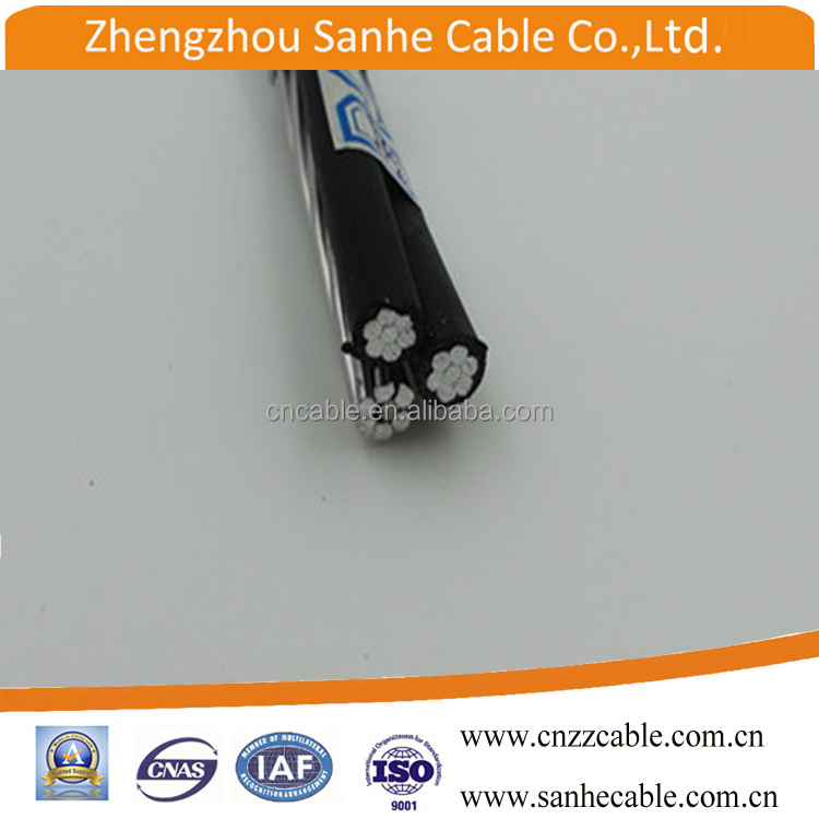 3 core AAC/ACSR Conductor ABC Transmission line Power cable