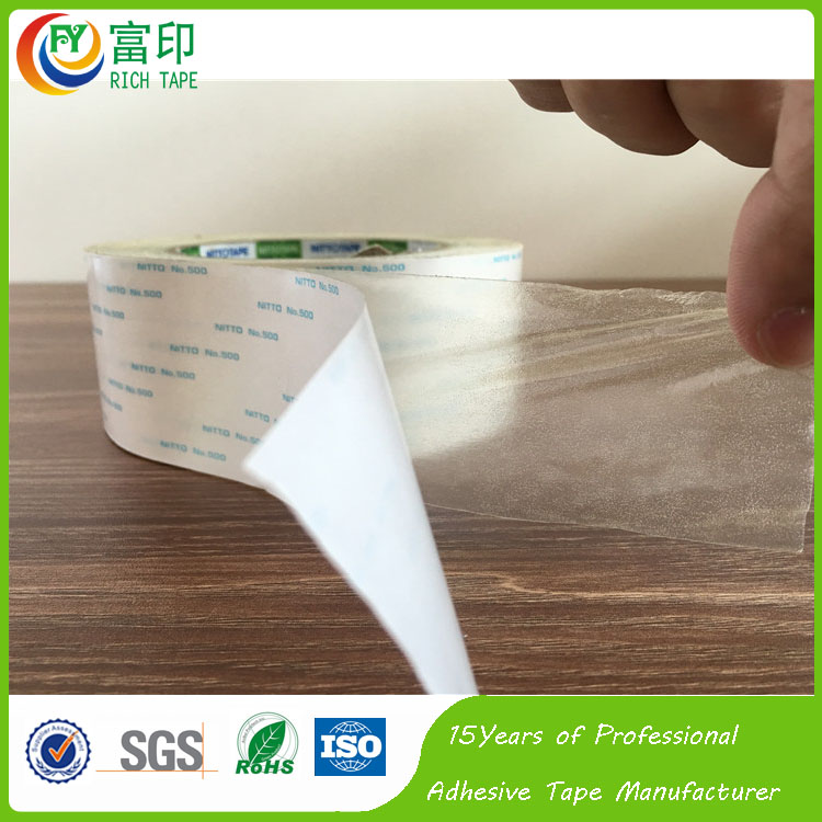 Manufacturer Double Sided Adhesive Tape For Electrical Nitto Denko 500