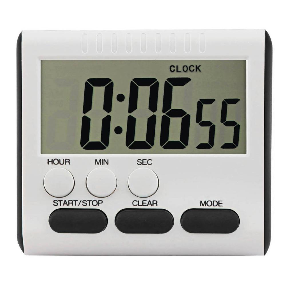Very Loud Alarm Large Digital Countdown Timer 24 Hours Countdown Clocks -  Buy Digital Countdown Timer,Countdown Clocks,Large Countdown Clock Product