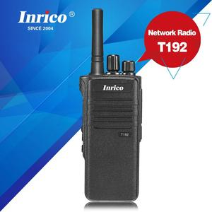 Inrico T192 3G IP66 best selling gsm wcdma transmitter and receiver handheld radio walkie talkie with SIM card